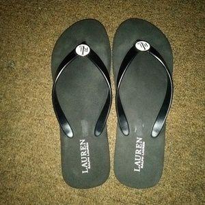 Ralph Lauren sandals size 9-10